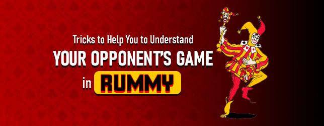 rummy game tricks
