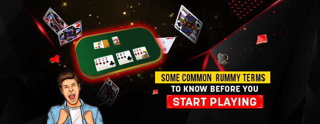 rummy terms to know before playing