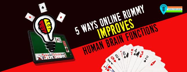 rummy improves brain function