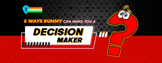 rummy game - decision maker