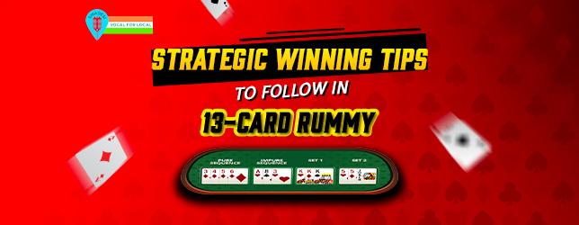 13-card-rummy winning tips