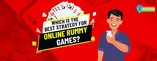 online rummy strategy