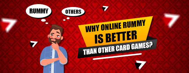 online rummy better than other card games