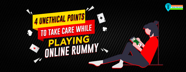 unethical points for online rummy