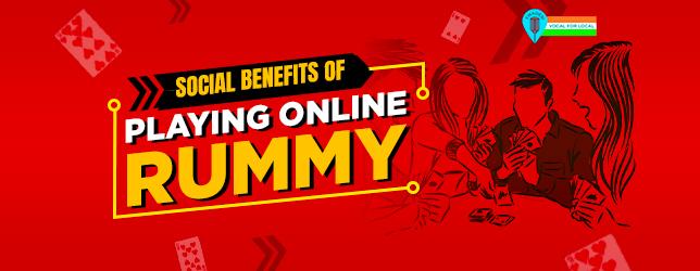 social benefits online rummy