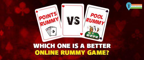 points vs pool rummy