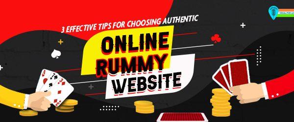 authentic online rummy
