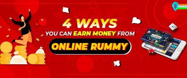 money earn online rummy