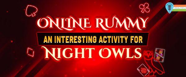online rummy night