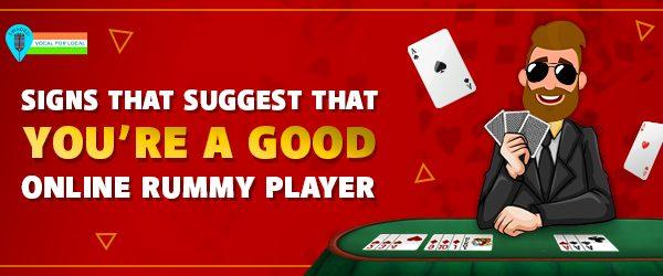 good online rummy player