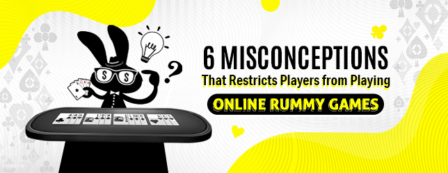misconceptions of online rummy