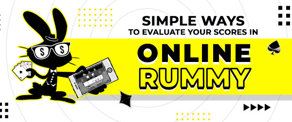 evaluate online rummy score
