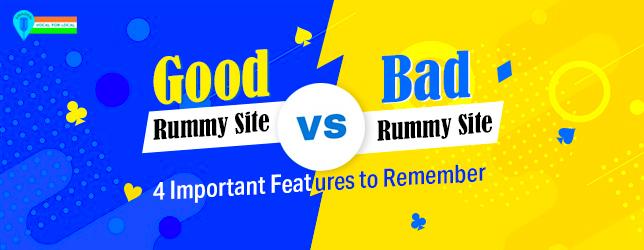 good vs bad rummy site